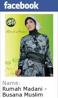 Halaman Facebook Rumah Madani - Busana Muslim