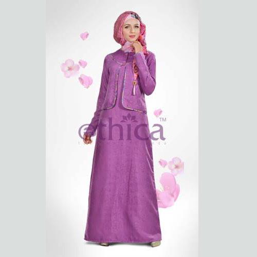 Baju Muslim Anak Perempuan Ethica Gambar Baju Gamis Baju Gamis