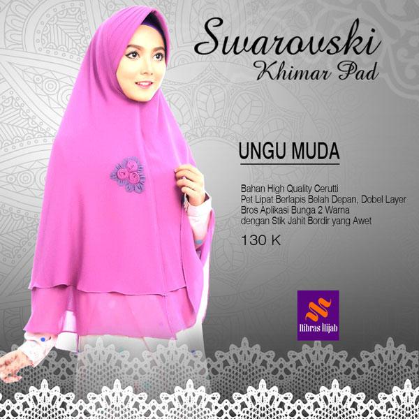 Hijab Nibras Swarovski Khimar Antem Abu Tua Page 3 Daftar Update