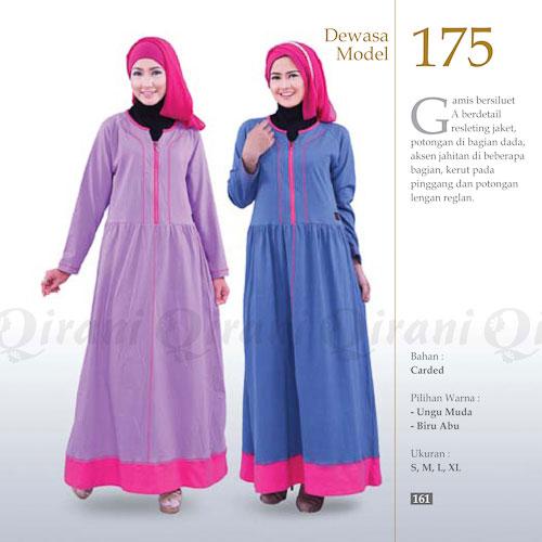q175 diskon 50% page 2 rumah madani busana muslim,Model Busana Muslim Qirani Terbaru