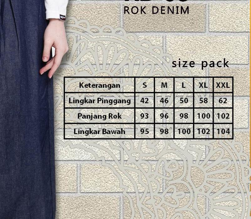 size pack busana muslim aurany