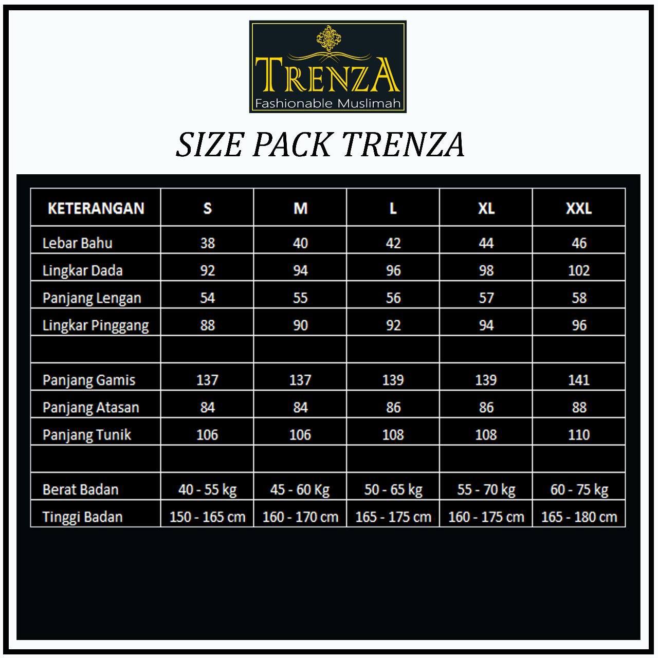 size pack busana muslim trenza