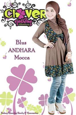 busana muslim clover cloting