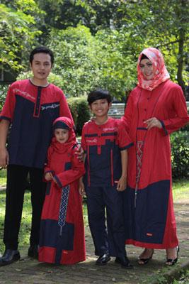 busana muslim gamis nibras