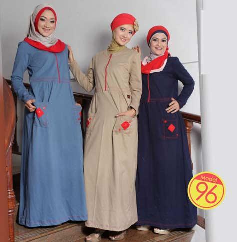 World Fashion Muslimah Tips Memilih Busana Muslim Bagi