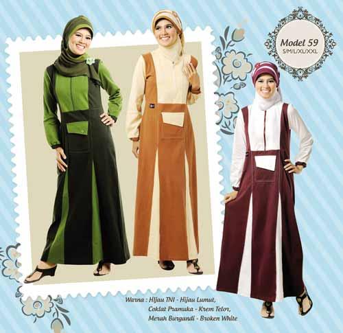berikut ini adalah beberapa model busana muslim 2013 terbaru