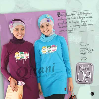 Qirani - All Season's Trendy - Busana Muslim Remaja Ber
